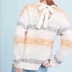 Anthropologie Meadow Rue Kennedy Striped Sweater